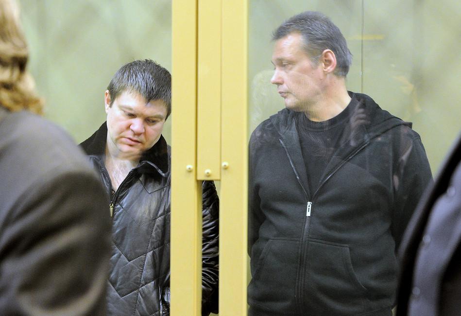 Сергей Цапок иИгорь Черных (слева направо). Фото: Валерий Матыцин/ ТАСС
