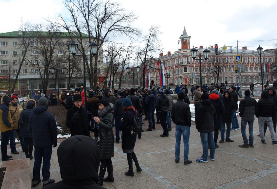 Участники митинга вУльяновске 26марта 2017года. Фото: Артем Горбунов