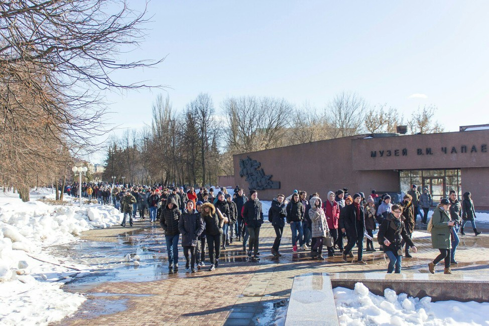 Начленов совета Открытой России вЧувашии заводят административные дела, чтобы лишить ихправа проводить митинги