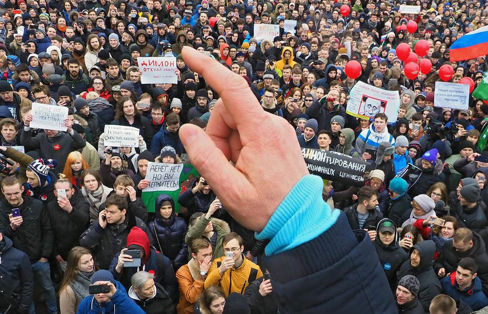 Как Кремль ответит натретью волну гражданского сопротивления?