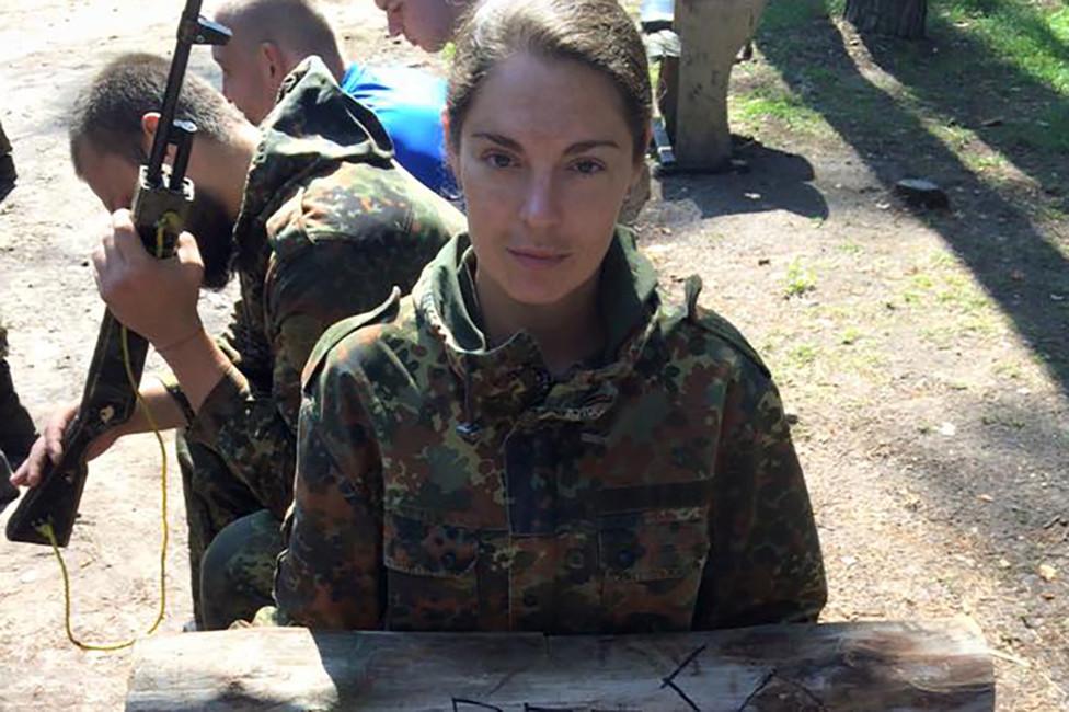 Анастасия Леонова. Фото: личная страница Facebook