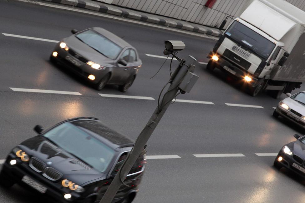Камера видеофиксации. Фото: Елена Горбачева/ Коммерсантъ