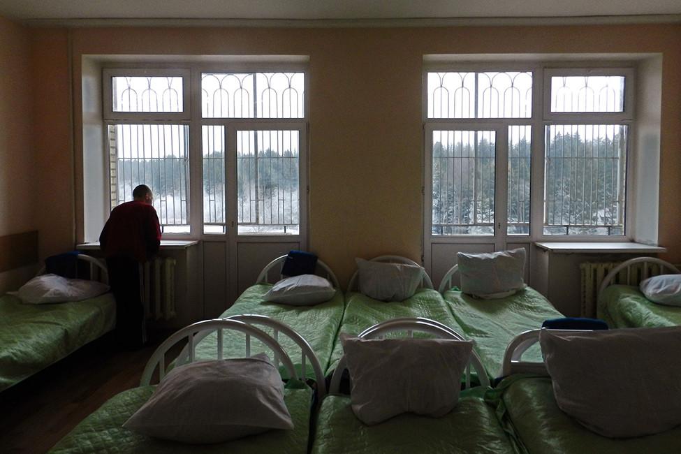 Палата впсихиатрической больнице. Фото: Ольга Алленова/ Коммерсантъ