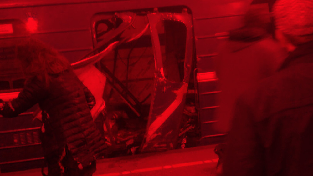 Взрыв впетербургском метро. Онлайн