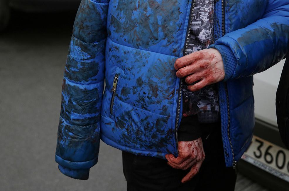 Последствия взрыва вметро вСанкт-Петербурге, 3апреля 2017года. Фото: Антон Ваганов/ Reuters