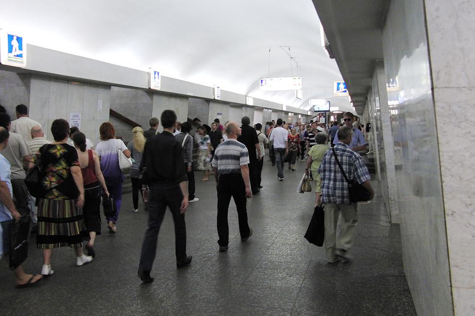 Станция «Третьяковская». Фото: Михаил Щербаков