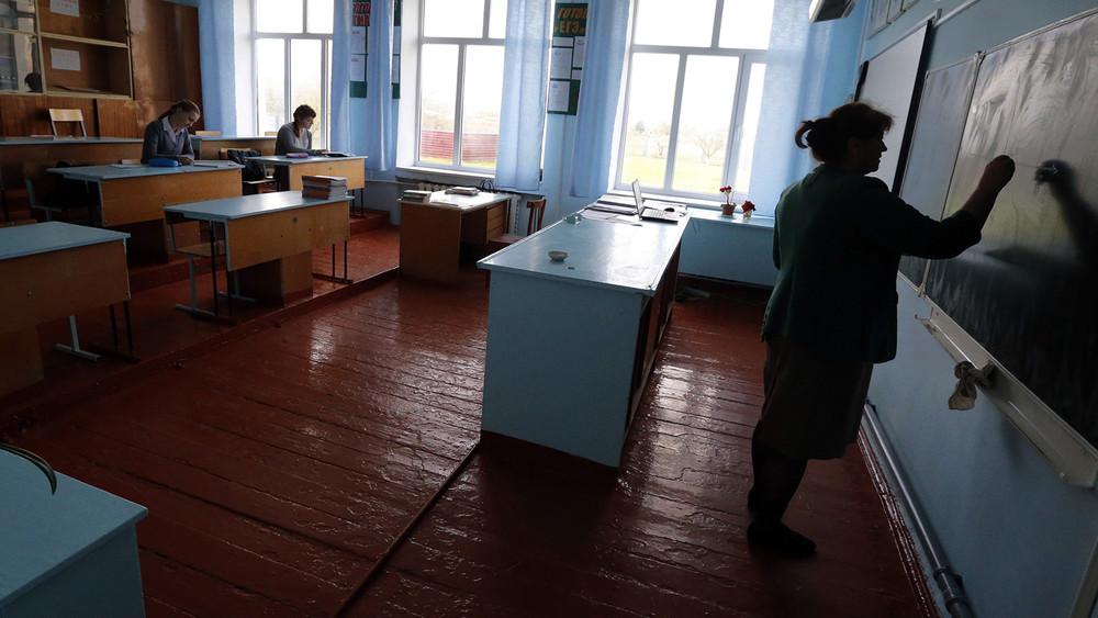 «Наеду нам хватает»: сельские учителя освоей зарплате