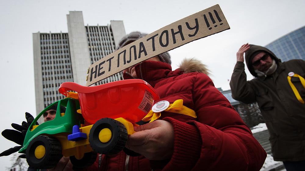 Антиплатон: аресты, «гаражный протест» ибронетранспортеры. Итоги первой недели забастовки