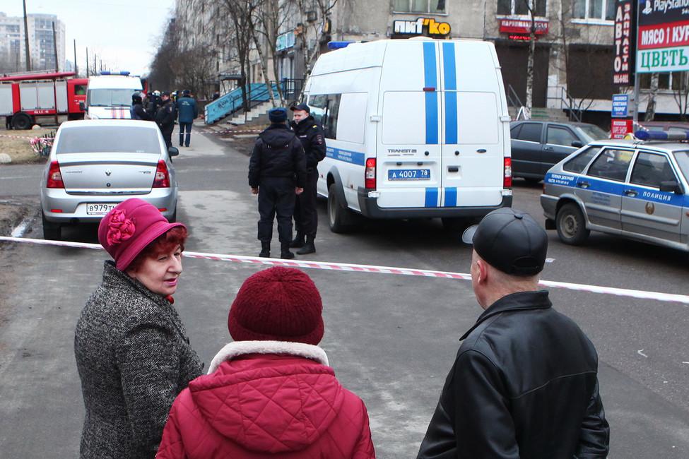 Жилой дом, вкотором обнаружена бомба. Фото: Евгений Степанов/ Интерпресс/ ТАСС