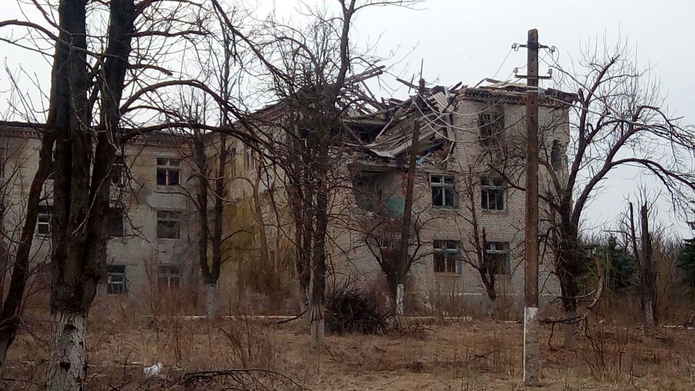 Деревня Семеновка вокрестностях Славянска. Фото: Роман Попков