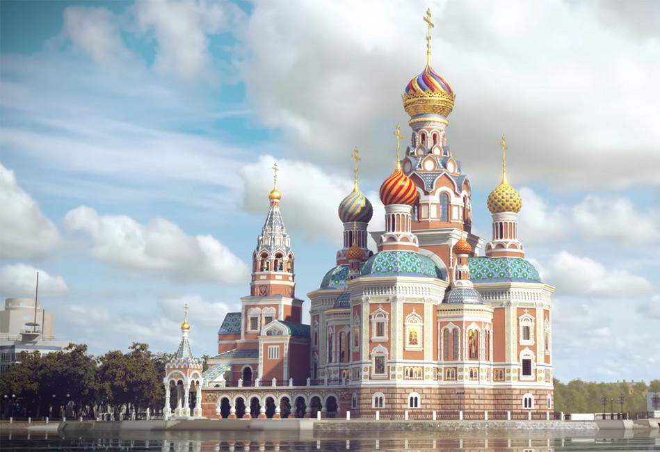 Храм-на-воде: история Екатеринбурга или демонстрация вседозволенности?