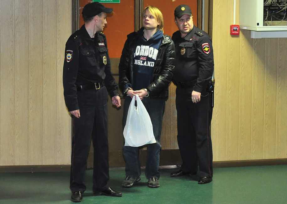 В столицеРФ суд отказал варесте подозреваемого впризывах кбеспорядкам