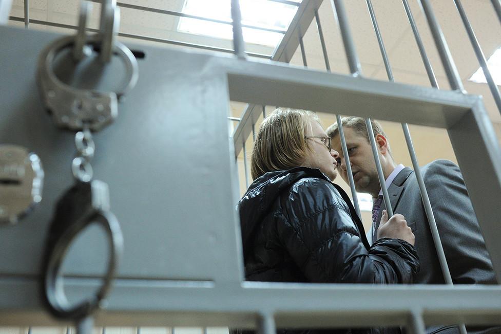 Дмитрий Богатов вздании Пресненского районного суда Москвы. Фото: Агенство Москва