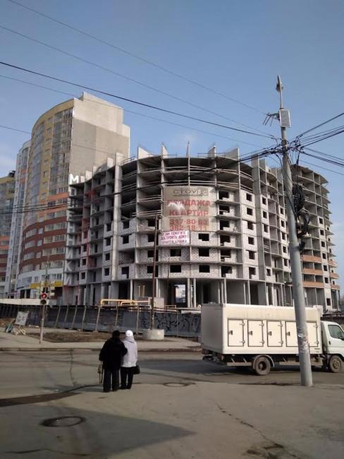 Долгострой наЩербакова20, Екатеринбург. Фото: Вконтакте