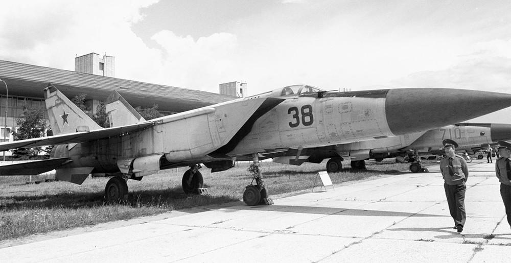 МиГ-25. Фото Виталий Созинов /Фотохроника ТАСС