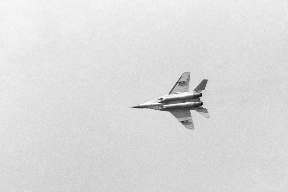 МиГ-29в полете. Фото Владимир Яцина /Фотохроника ТАСС