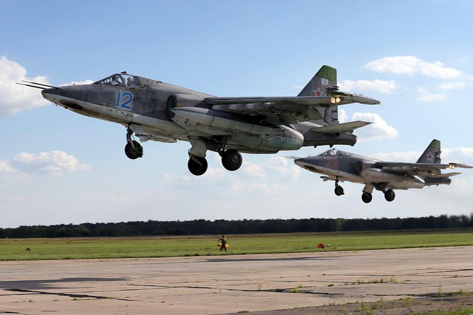 Су-25. Фото: Марина Лысцева/ ТАСС