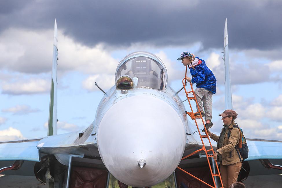Су-27. Фото: Сергей Коньков/ ТАСС