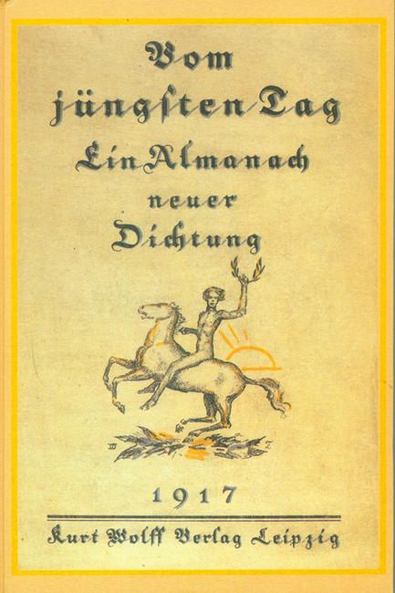 Обложка альманаха Vom Jüngsten, изданная Куртом Вольфом в1917году. Источник: buch-findr.de
