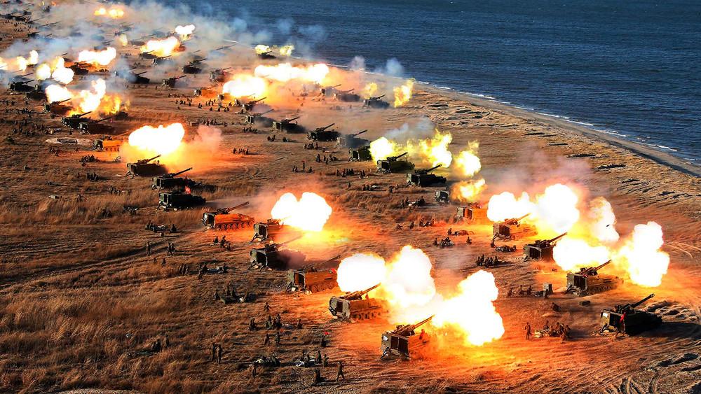 Корейский полуостров: угроза войны исоотношение сил Севера, Юга иСША