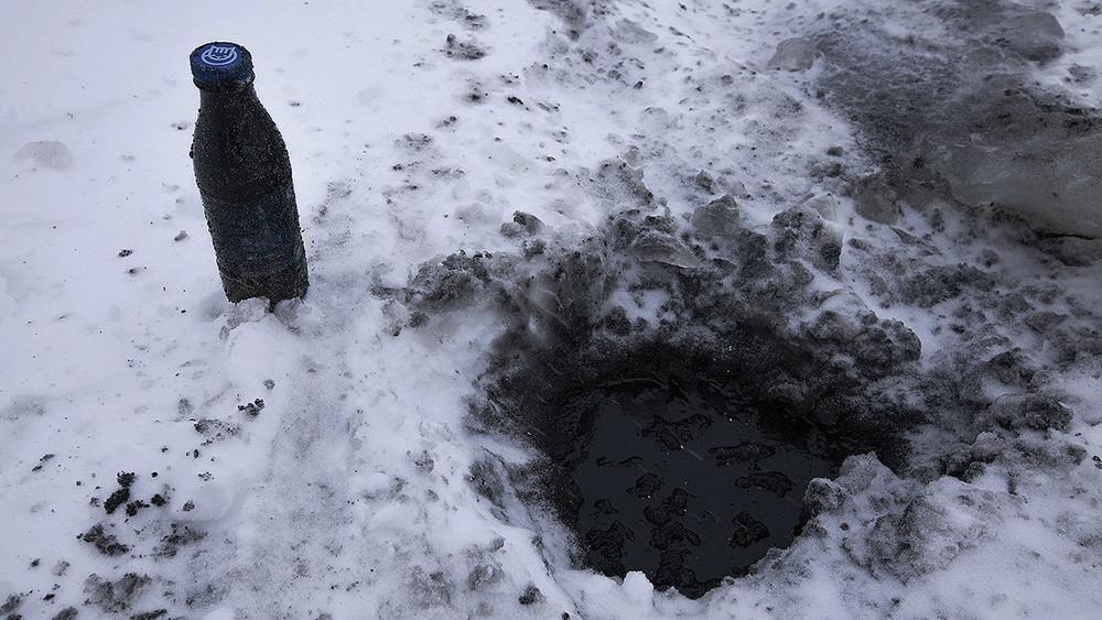 Коми. Власти нехотят замечать 7тонн токсичных реагентов иоколо тонны дизеля, попавших вреку