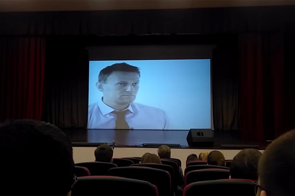ВоВладимире студентам показали фильм про Навального-Гитлера