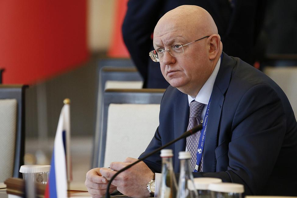 Василий Небензя. Фото: Александр Щербак/ ТАСС