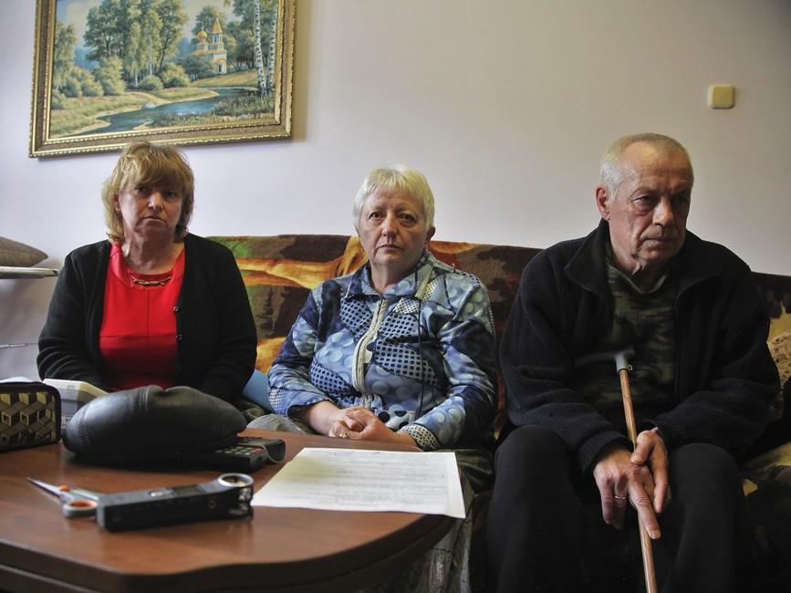 Марина Негреба, Наталья Рябичева иВладимир Рябичев. Фото: ЦУР