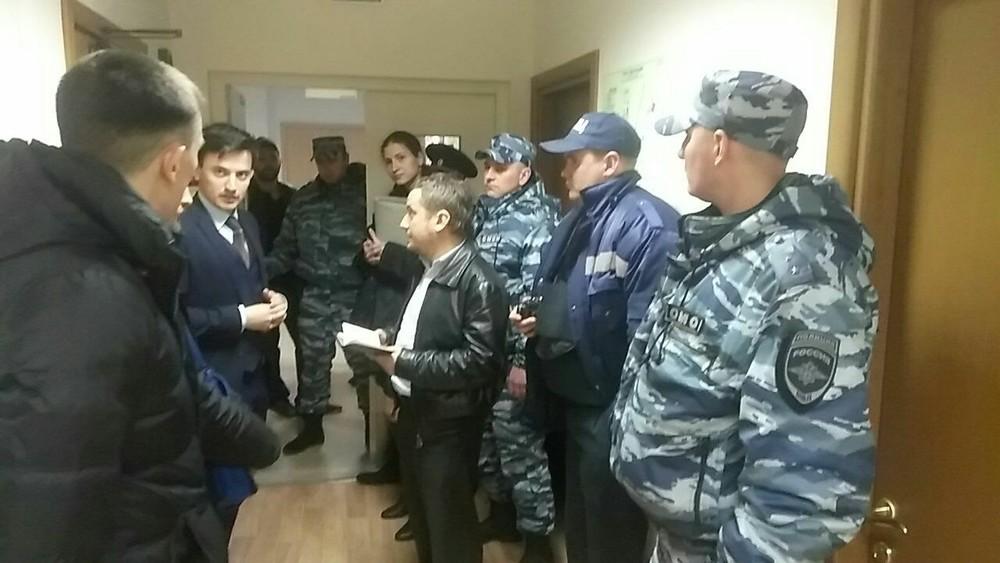 Обыск в�офисе �Открытых выборов�. Фото: Александр Соловьев�/ Facebook