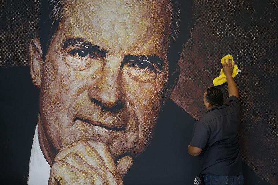 Музей Ричарда Никсона вКалифорнии. Фото: Jae C. Hong/ AP