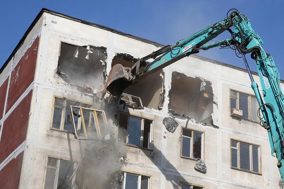 Мэрия Москвы планирует снести более 4,5 тысяч пятиэтажек