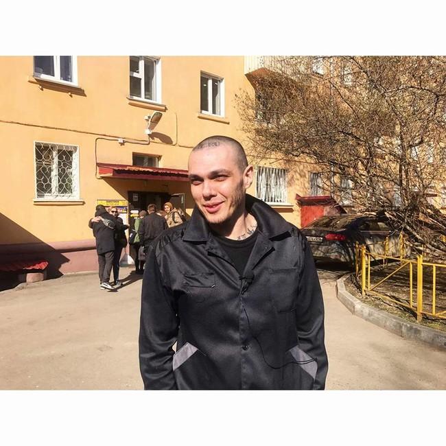 Антифашист Алексей Сутуга вышел насвободу