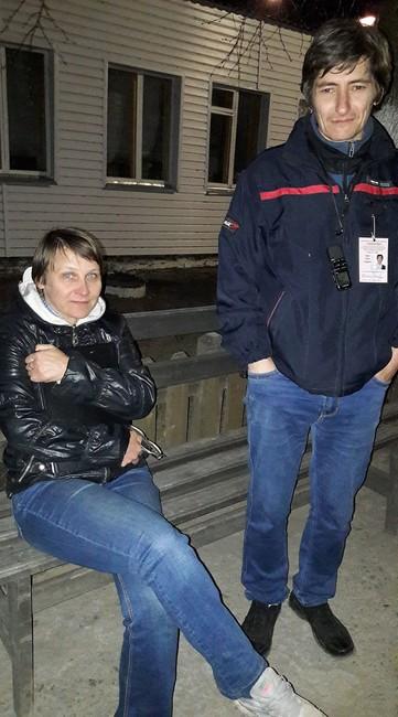 Ольга Вековишкина иСергей Зыков вТавде. Фото: Алексей Соколов/ Facebook