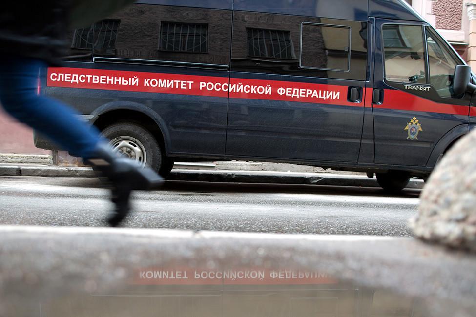 Автомобиль Следственного комитета Российской Федерации. Фото: Сафрон Голиков/ Коммерсантъ