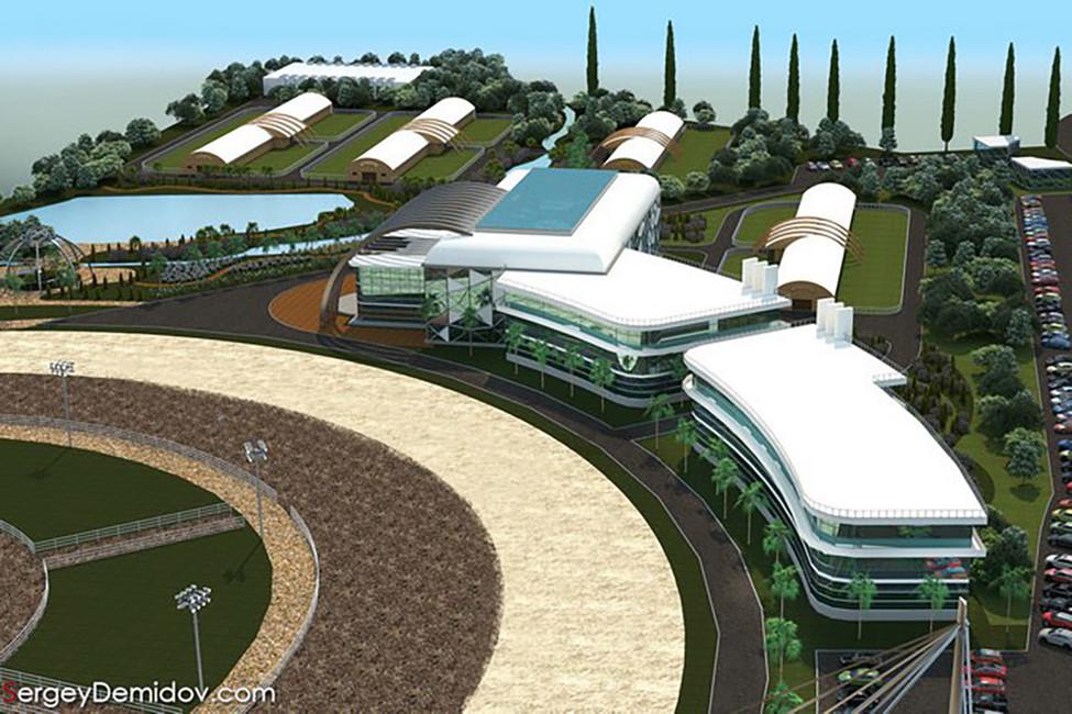 Проект ипподрома. Источник: www.sergeydemidov.com