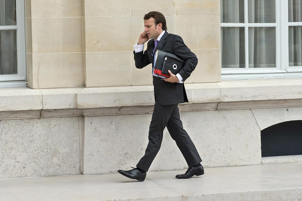 Заместитель генерального секретаря президента Франции Эмманюэль Макрон, 2012год. Фото: POOL New/ Reuters