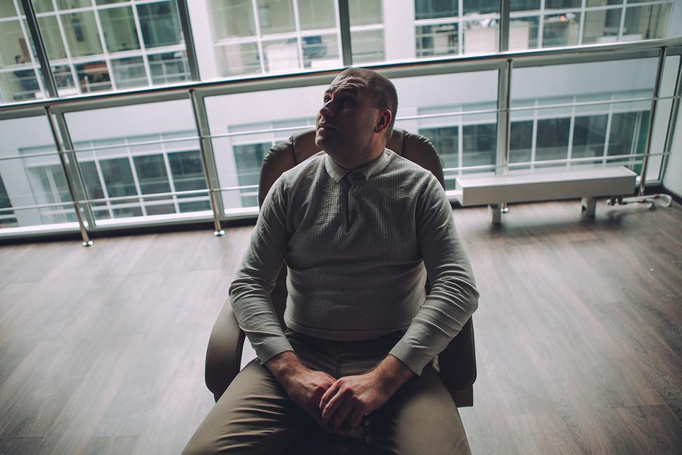 Илья Болтунов всвоем офисе. Фото: Андрей Золотов