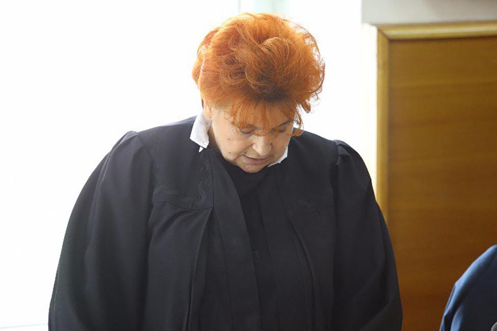 Судья Екатерина Шопоняк. Фото: znak.com