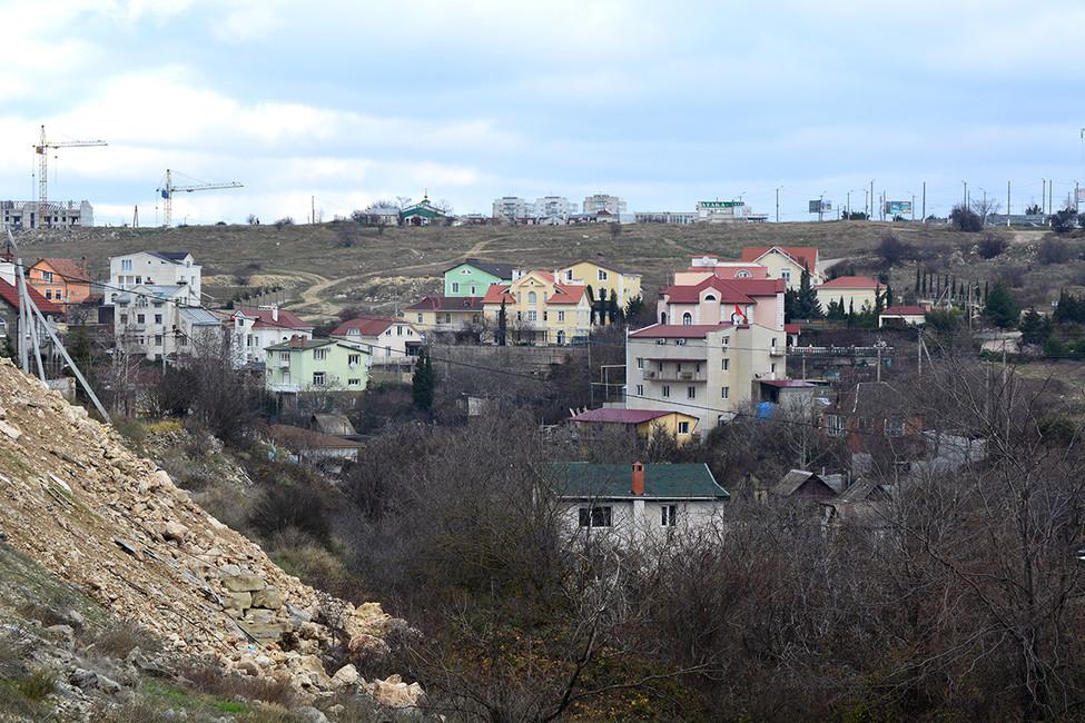 Частный сектор вСевастополе. Фото: Иван Жилин