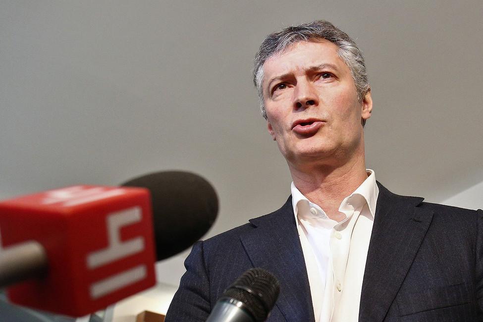 «Яблоко» выдвинет кандидатуру Ройзмана навыборах губернатора Свердловской области