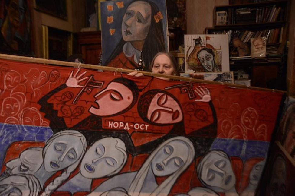 Фото: Совесть Петербурга— художница Осипова Елена/ ВКонтакте