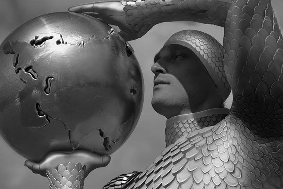 «Парад победы 2937 (XIII).». Автор: Алексей Беляев-Гинтовт. Источник: Алексей Гинтовт/ Facebook