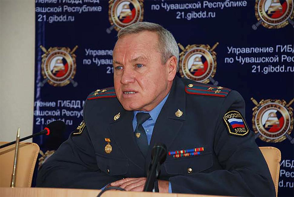 Владимир Ежеев. Фото: mvd.chuvashia.com
