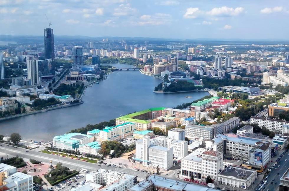 Екатеринбург. Фото: google maps