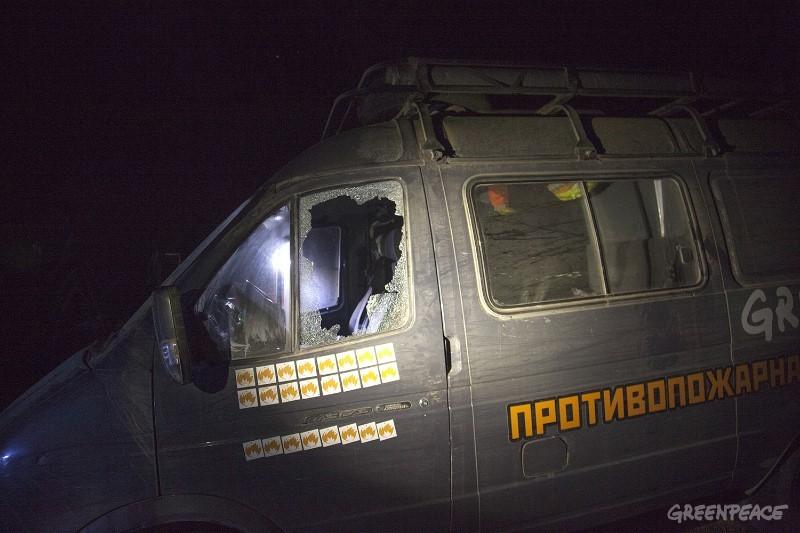 Полиция ненашла человека, угрожавшего застрелить активиста Greenpeace
