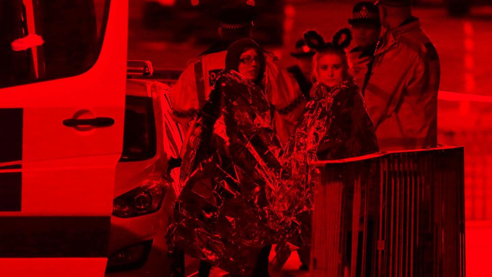 Взрыв настадионе вМанчестере. Онлайн