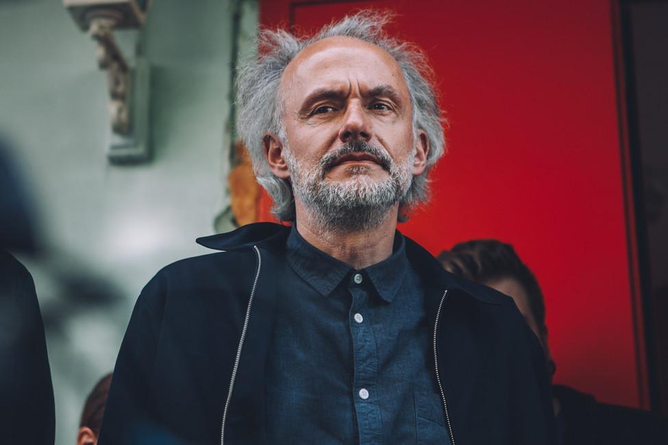 Актер илидер группы «Мегаполис» Олег Нестеров
