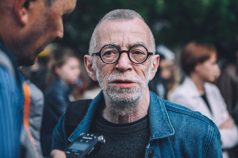 Писатель иобщественный деятель Лев Рубинштейн