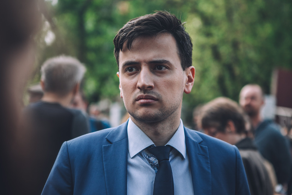 Председатель движения «Открытая Россия» Александр Соловьев
