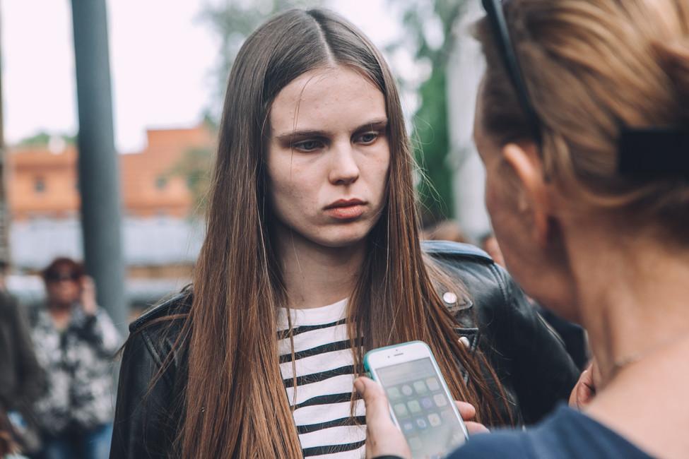 Актриса «Гоголь-центра» Александра Ревенко